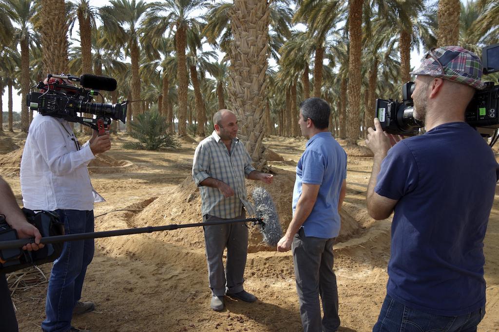 writer/ farmer Hedai Offaim interviewed by Roger Sherman