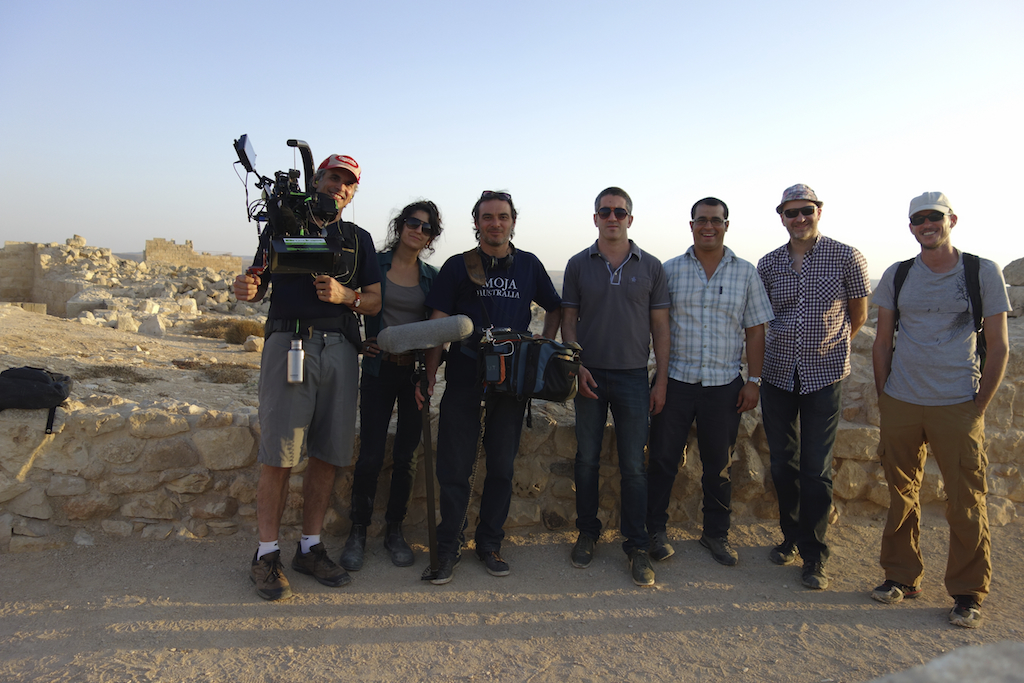 our fantastic crew on location