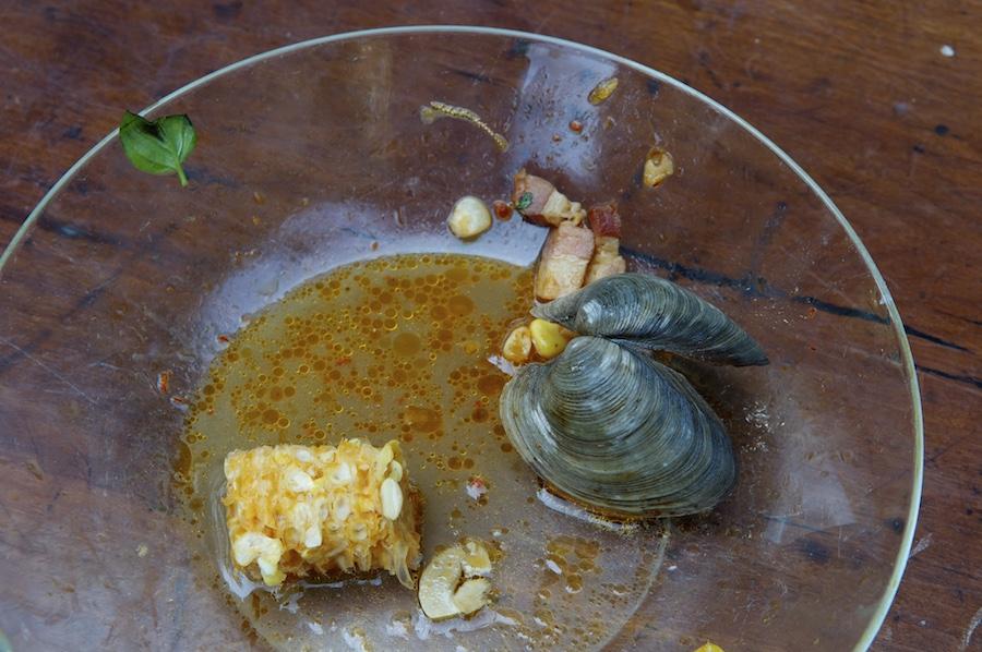 Seamus Mullen's corn & clam