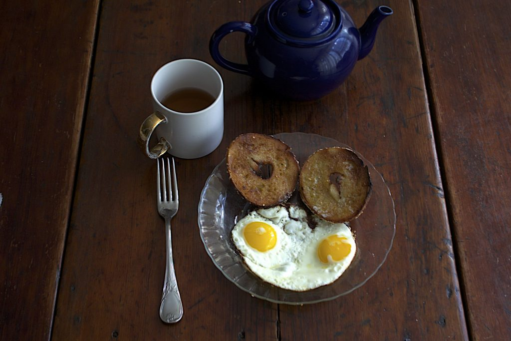 Bagel & Eggs