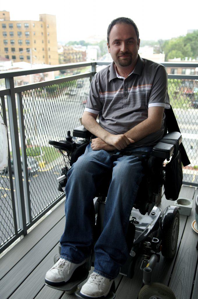 Lawyer, runs non-profit called Wheeling Forward