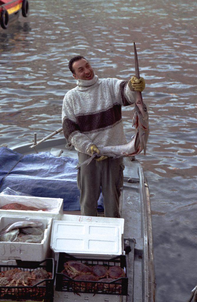 Venice holding sword fish B