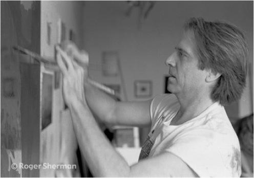 Stephen Hannock, painter