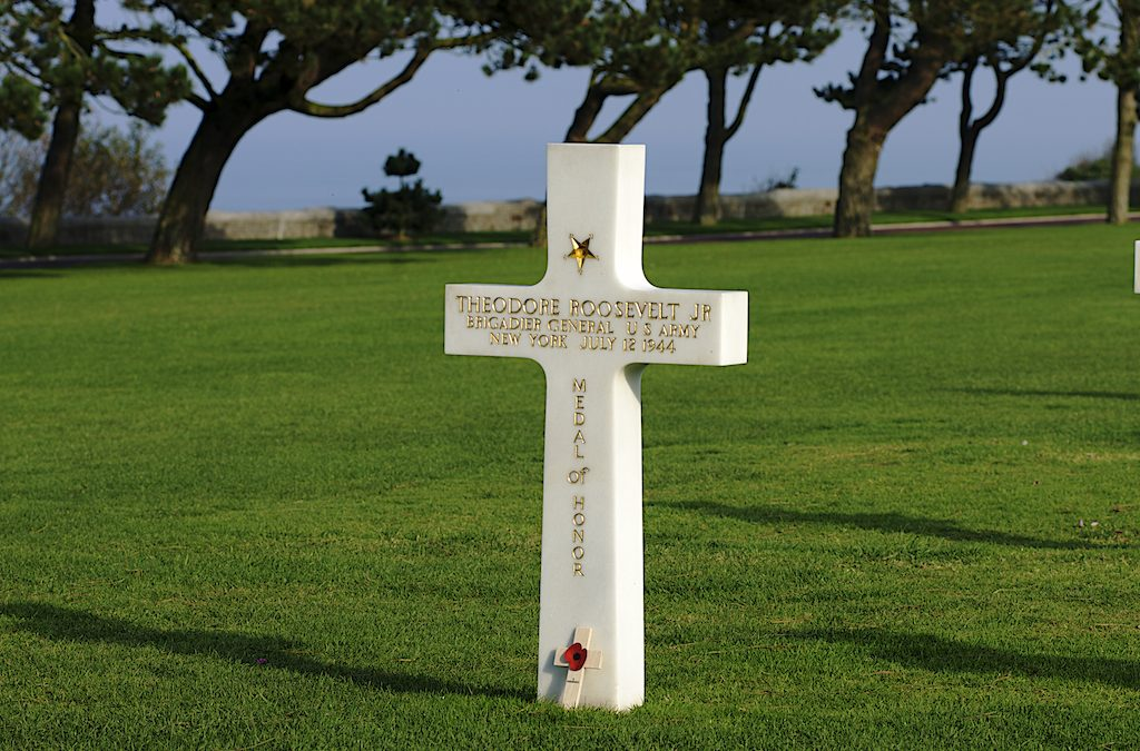 Omaha Beach Memorial, Normandy, France