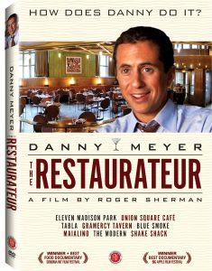 The Restaurateur DVD box