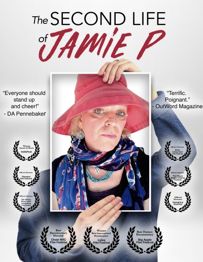 The Second Life of Jamie P poster with film festival laurels