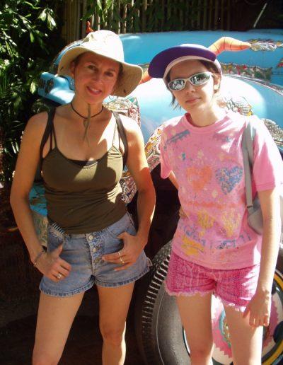 ex-wife Elaine with tween daughter Angie