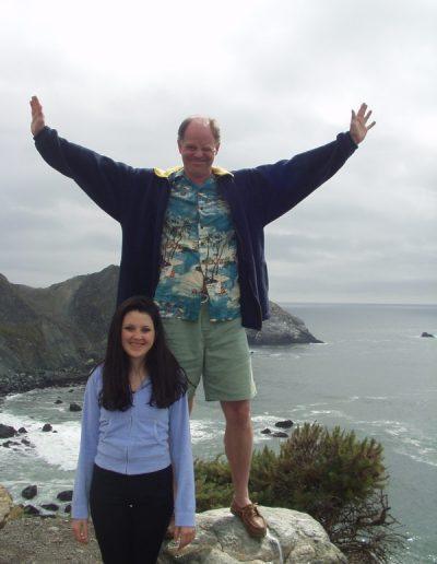 Jamie and Tina on vacation