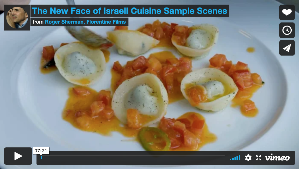New Face of Israeli Cuisine video still